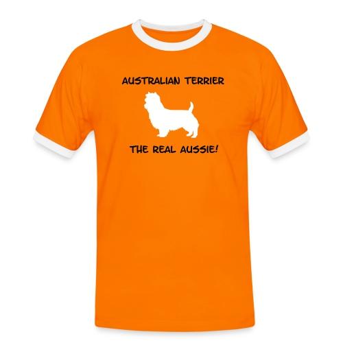 Australian Terrier Shirt - Männer Kontrast-T-Shirt
