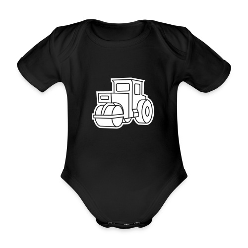 Dampfwalze Traktoren Steam-powered rollers Tractors - Baby Bio-Kurzarm-Body