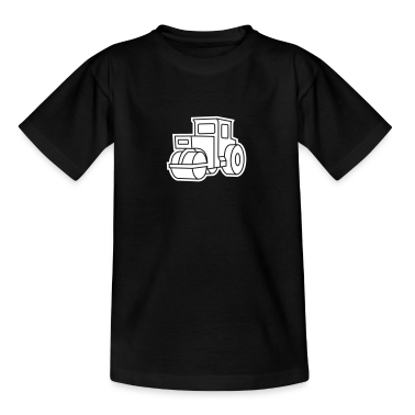 1 col - Dampfwalze Traktoren Steam-powered rollers Tractors Kids' Shirts