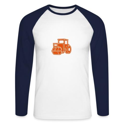 Dampfwalze Traktoren Steam-powered rollers Tractors - Männer Baseballshirt langarm