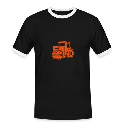 Dampfwalze Traktoren Steam-powered rollers Tractors - Männer Kontrast-T-Shirt