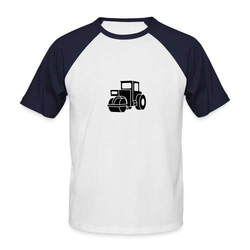 Dampfwalze Traktoren Steam-powered rollers Tractors - Männer Baseball-T-Shirt