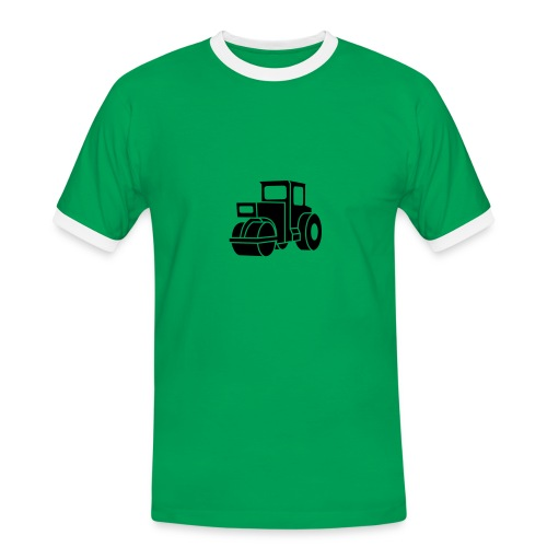 Dampfwalze Traktoren Steam-powered rollers Tractors - Männer Kontrast-T-Shirt