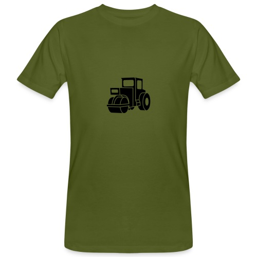 Dampfwalze Traktoren Steam-powered rollers Tractors - Männer Bio-T-Shirt