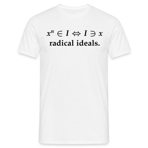 radical ideals - Männer T-Shirt