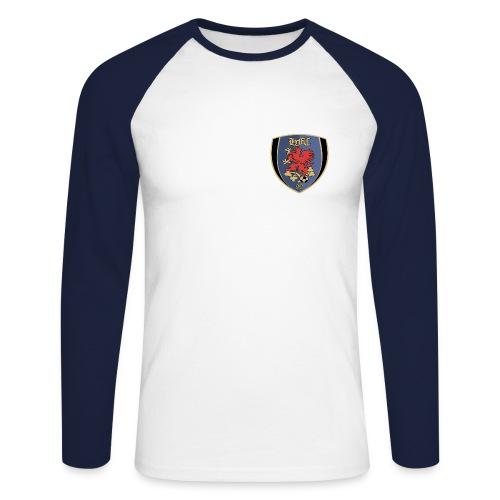 Shirt Baseball Langarm  - Männer Baseballshirt langarm