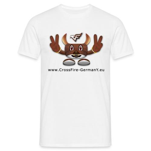 CrossY Peace + Nickname - Männer T-Shirt