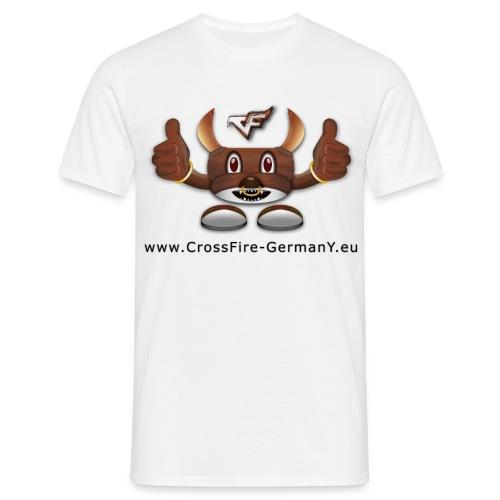 CrossY ThumbsUp + Nickname - Männer T-Shirt