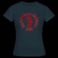 T-shirts ~ T-shirt dam ~ Sjöhästen Klassisk T-shirt dam stor logga