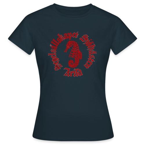 Sjöhästen Klassisk T-shirt dam stor logga - T-shirt dam