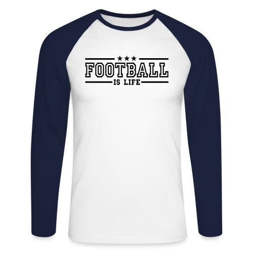 Sweat Shirt - Men's Long Sleeve Baseball T-Shirt