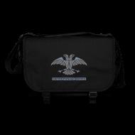 Taschen & Rucksäcke ~ Umhängetasche ~ [UPS] Umhängetasche, schwarz, Aufdruck in Grau/Silber-Matt