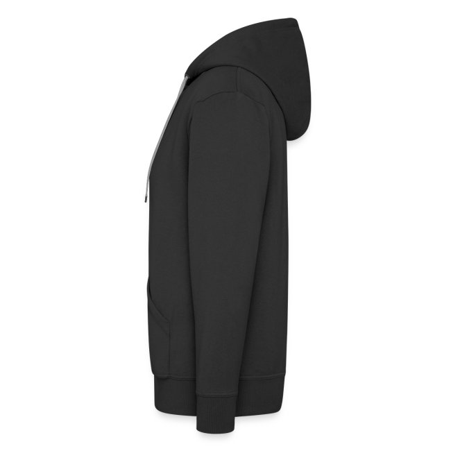 [UPS] Männer Kapuzenjacke, schwarz, Aufdruck in Grau