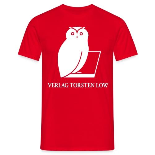 Verlagsshirt rot - Männer T-Shirt