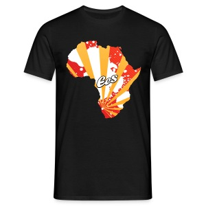 EES - Africa is the Future (black/rays) - Men's T-Shirt
