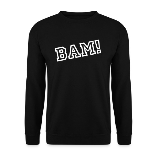 BAM! Simple Sweatshirt  - Men's Sweatshirt