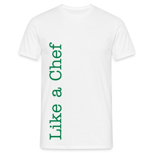 T-shirt Like a Chef - Männer T-Shirt