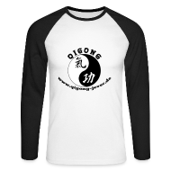 Langarmshirts ~ Männer Baseballshirt langarm ~ Qigong in Jever Longsleeve