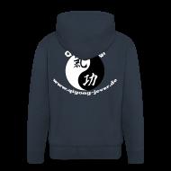 Pullover & Hoodies ~ Männer Premium Kapuzenjacke ~ Qigong in Jever Kapujacke