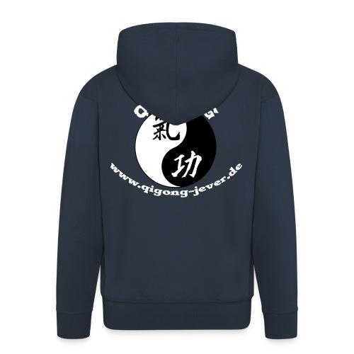 Qigong in Jever Kapujacke - Männer Premium Kapuzenjacke