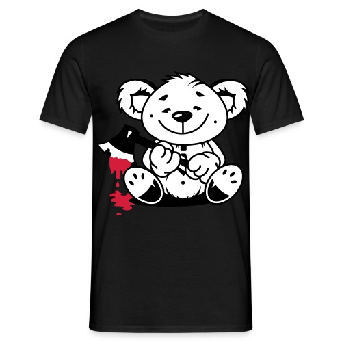 k87 angry bear - Men's T-Shirt