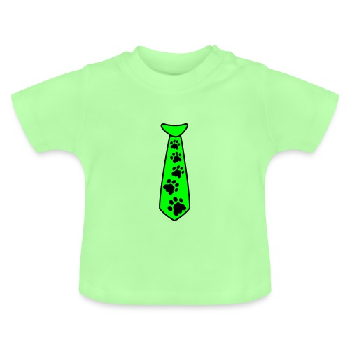 Baby T-Shirt Catpaw Krawatte - Baby T-Shirt