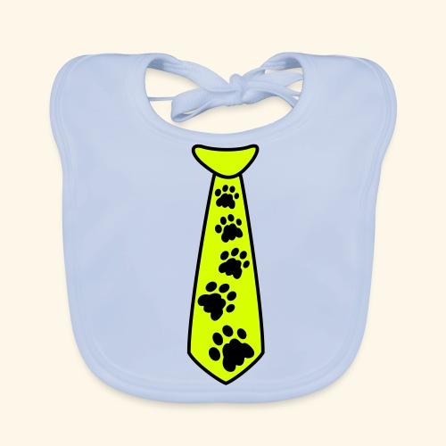 Baby Lätzchen Catpaw Krawatte - Baby Bio-Lätzchen
