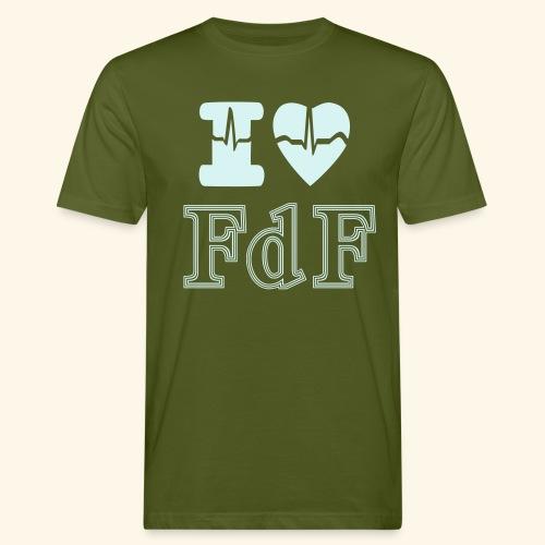 I LOVE FDF - T-shirt bio Homme