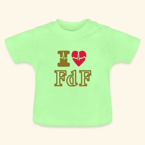 I LOVE FDF - T-shirt Bébé