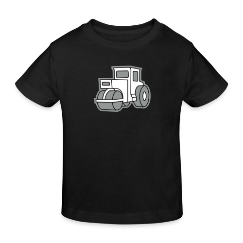 Dampfwalze Traktoren Steam-powered rollers Tractors - Kinder Bio-T-Shirt