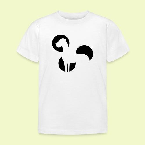 Weniger ist mehr Dogge - Kinder T-Shirt