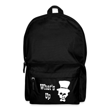 What's up Skull Backpack