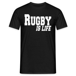 Rugby is Life - T-shirt Homme
