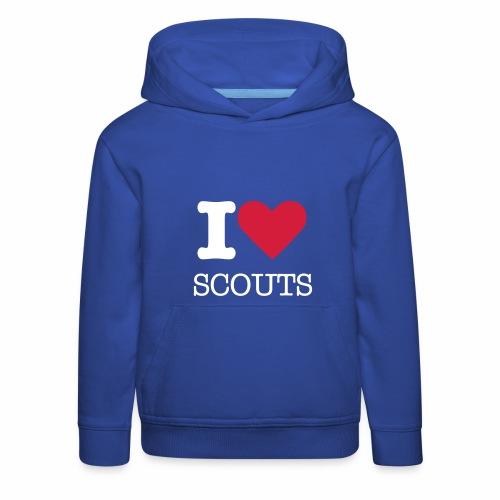 Be a scout - Pull à capuche Premium Enfant