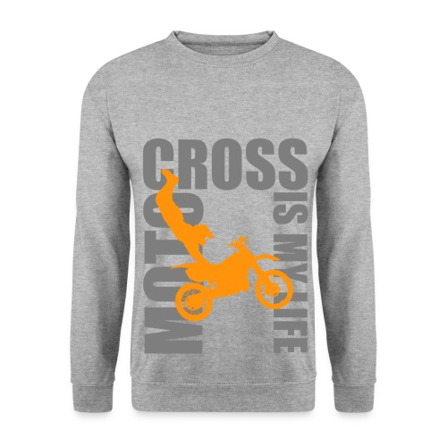 Pull homme motocross is my life - Sweat-shirt Homme