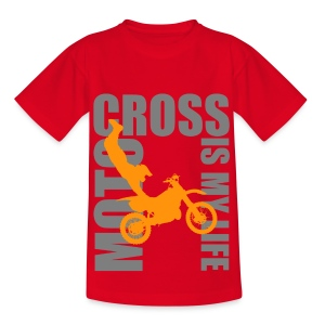 T shirt ado motocross is my life - T-shirt Ado