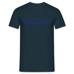 what year is it - Men's T-Shirt