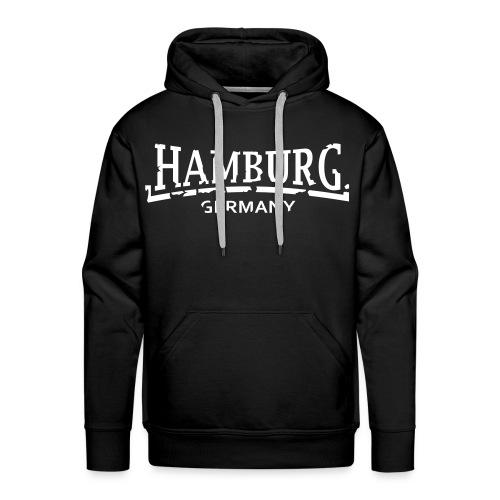 HAMBURG City Support - Männer Premium Hoodie