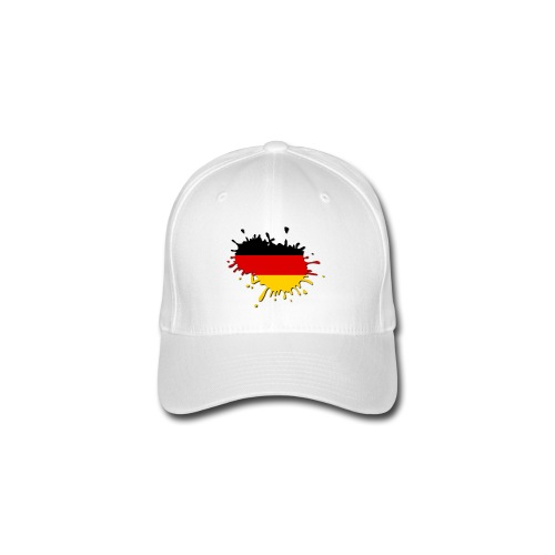 Deutschland EM 2012 - Basecap Splash Germany - Flexfit Baseballkappe