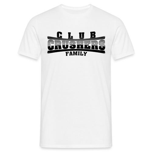Clubcrushers Family Shirt white - Männer T-Shirt