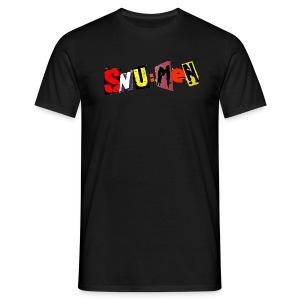 SNU:MeN Log color - Männer T-Shirt
