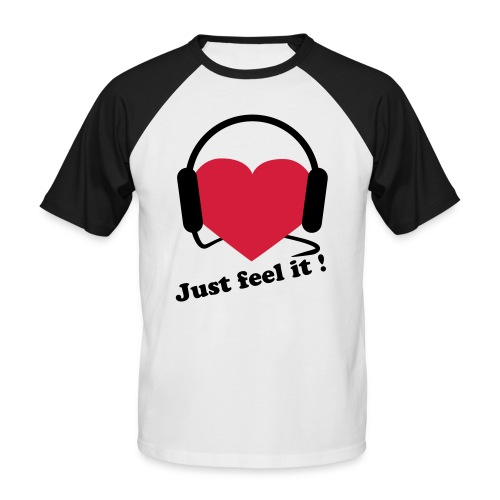 Just Feel it by X-POSED - Männer Baseball-T-Shirt