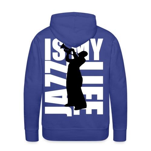 Sweat à capuche homme jazz is my life - Sweat-shirt à capuche Premium pour hommes