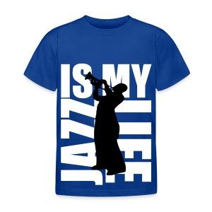 T shirt enfant jazz is my life - T-shirt Enfant