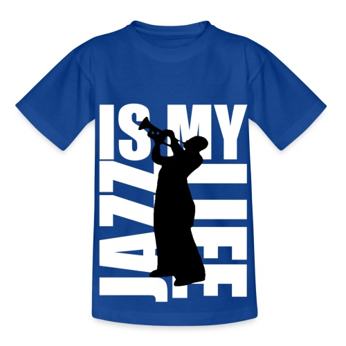T shirt enfant jazz is my life - T-shirt Enfant
