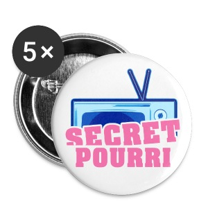 Secret pourri - Badge petit 25 mm