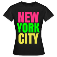 T-Shirts ~ Women's T-Shirt ~ glee york city (F)