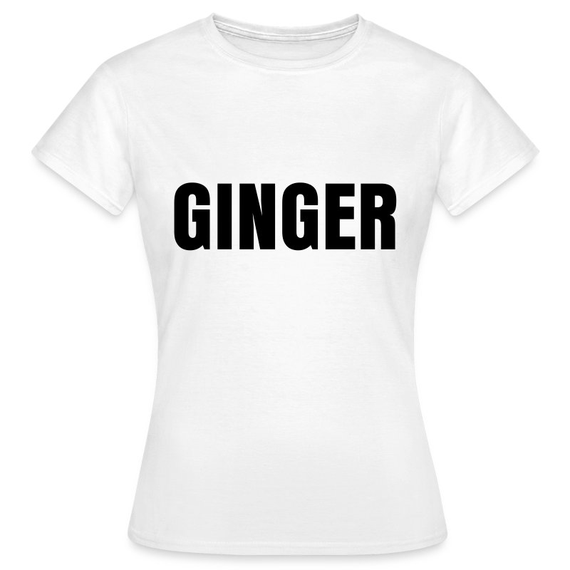 glee born this way ginger (F) - Women's T-Shirt