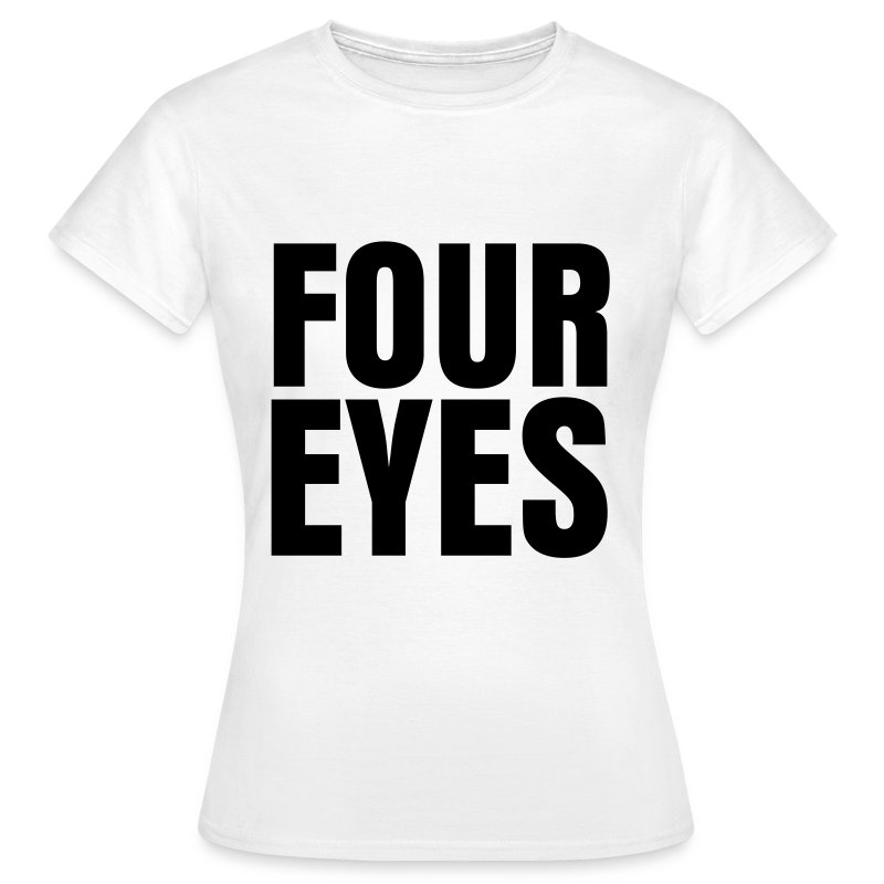 glee born this way four eyes (F) - Women's T-Shirt