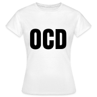 T-Shirts ~ Women's T-Shirt ~ glee born this way ocd (F)
